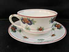 4 Sets! Syracuse China Canterbury O.P. Co. Cup and Saucer Sets  - Very Good Cond