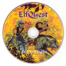 "ELFQUEST ""Fire and Flight"" DVD video comic book - SIGNED"