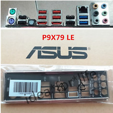 NEW Original io i/o shield BLENDE BRACKET for ASUS P9X79 LE #T857 YS