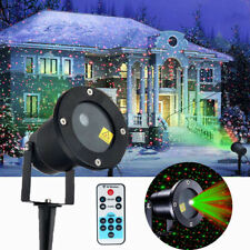 Christmas Laser Star Light RGB Shower LED MOTION Projector Outdoor Garden Lamp
