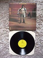 Russ Ballard Winning Vinyl UK Epic 1977 1st Press A1B1 Matrix Argent The Zombies
