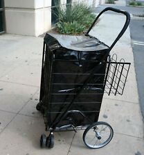 Water Proof Shopping Cart Liner With Top Lid Cover (Shopping Cart Not Included)