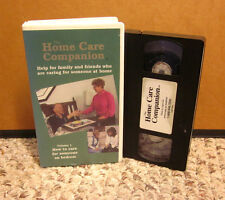 HOW TO CARE FOR SOMEONE ON BEDREST home health-care Homecare Companion VHS