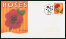 MayfairStamps Australia FDC 1987 Greetings Red Rose First Day Cover wwr5583