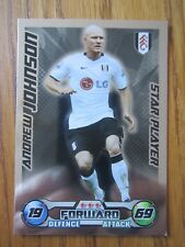 Match Attax 2008/09 Star Player card - Andrew Johnson of Fulham