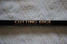1 CUTTING EDGE* Iron STIFF Flex Graphite Shaft - Black (single shaft)