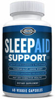 Sleep Aid Support (All Natural) - Meletonin, 5-HTP, Ashwagandha , Eiyo Nutrition