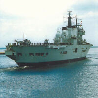 1:400 DIY 3D 52Cm England Invincible Class Aircraft Carrier Paper Model UK#