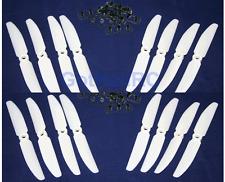 GemFan 5030 5x3 WHITE MultiRotor propeller CW, CCW Mini 250mm Quadcopter (16PCS)