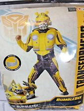 Transformers Bumblebee Child Costume, Disguise 10-12 New In Packaging (W68)