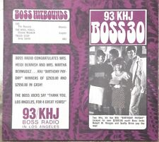 KHJ 93 Boss 30 Radio Survey - No. 201 - May 7, 1969