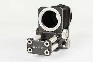Novoflex / Elinchrom Macro Bellows Unit + Focus Slide - M42 / M39 Screw Fit