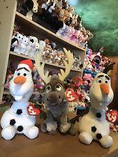 Deal: Ty *Disney Licensed FROZEN* Beanie Baby Gift Set: SANTA OLAF, SVEN, & OLAF