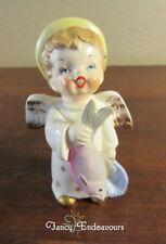 MIJ 1958 Japan Boy Angel with Fish Figurine