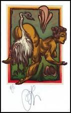 Agirba Ruslan 2008 Exlibris X6 Project Leda and Swan Mythology Erotic Nude g13