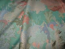 """Zimmer+Rohde SALE! WARNER & SONS FABRIC STUNNING """"CORAL LANDSCAPE"""" 8Y AVAILABLE"""