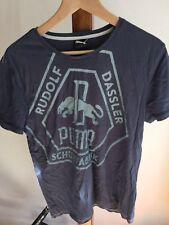 Puma Rudolf Dassler T Shirt Size S Grey