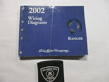 2002 FORD RANGER TRUCKS ELECTRICAL WIRING DIAGRAMS SHOP MANUAL