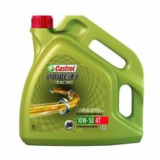 HUILE MOTO CASTROL POWER1 RACING SYNTHESE 4T 10W50 4L PE_36010212 MOTOMIKE 34