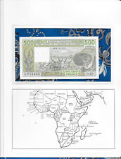 New listing Banknote West African Mali 500 Francs 1989 P405Dh Unc 488716953 Serie O.20