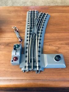 MTH Rail King RealTrax O-72 Right Switch Track Turnout Does Not Close Straight.