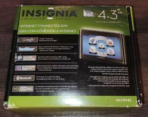 Insignia NS-CNV43 Automotive Mountable Internet Bluetooth GPS New Open Box