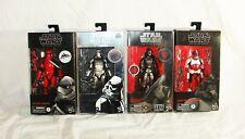 star wars black series captian cardinal stormtrooper inquisitor & commander fox