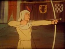 """16mm Film """"THE LEGEND OF ROBIN HOOD"""" Animated"""