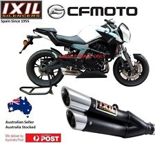 CFmoto 650 NK / ABS / LAMS 2012-2017  IXIL L3X BLK S/S Exhaust Muffler Pipe