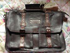 Tolle Taschendieb Tasche - Leather Bag Leder Tasche Lehrertasche 💼 -NEU !!