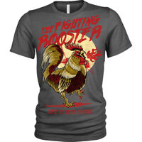 Funny Fighting Rooster T-Shirt Unisex Mens