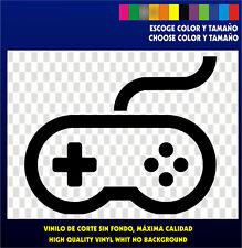 Sticker Vinilo  Mando Retro Controller Arcade Bartop  Nintendo Pegatina Vinyl