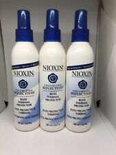 (3) NIOXIN Volumizing Reflectives BLISS THERMAL PROTECTOR Spray 6.8 oz