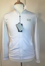 NWT Emporio Armani EA7 White Zip Up Tracksuit Top Jacket Sz UK XL/ US M Chest 38