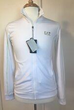 NWT Emporio Armani EA7 White Zip Up Tracksuit Top Jacket Sz UK XL/ US M Chest 38