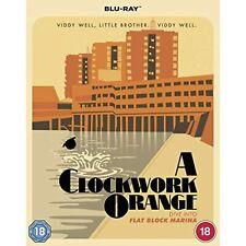 A Clockwork Orange Blu-ray [Region Free] Special Poster Edition - New