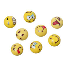 30 BEAUTIFUL HIGH QUALITY POLYMER CLAY MIXED EMOJI STYLE BEADS 12mm