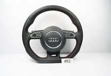AUDI A3 S3 RS3 STEERING WHEEL WITH AIRBAG MULTIFUNCTION BUTTONS FLAT BOTTOM #82