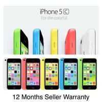 Apple iPhone 5C 8GB 16GB 32GB White Blue Green Pink Yellow Unlocked Graded SALE