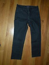 NYDJ Not Your Daughter's Jeans blue 6 (fits 8 ) straight 27 inseam / rhinestones