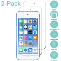 For Apple iPod Touch 5/6 2Pcs Screen Protector Tempered Glass Protective Film