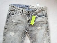 100% Camp David Herren Jeans;Pant Cape Town Dockalde CC Grey Denim used,W33 (L32