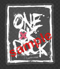 Jrock ONE OK ROCK Splash Logo Clear Vinyl Sticker