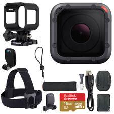 GoPro HERO5 Session Action Camera Bundle + 16GB MicroSD Card + Bonus Accessories