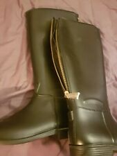 rubber boots  size 7 new