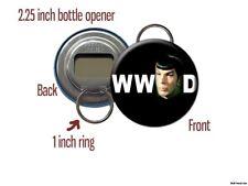 Spock What Would Spock Do Star Trek Vulcan Bottle Opener / Keychain