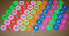 Vintage Lot Of 60 Disco Album Records Plastic Charms
