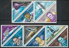 Jordan 1964 Space Flights Astronauts Rockets set of 10 MNH unmounted mint