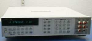 HP Keysight Agilent 3458A 8.5 Digit Multimeter 8 1/2 Digit