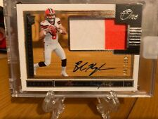 Panini One Baker Mayfield Cleveland Browns auto/patch RC #199